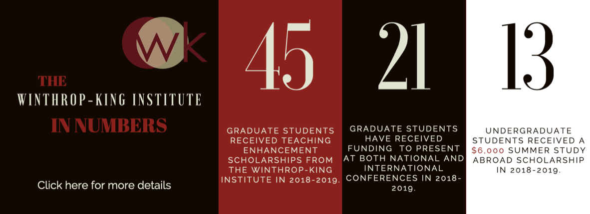 Winthrop-King In Numbers 2018-2019